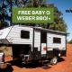 FREE BABY Q WEBER BBQ